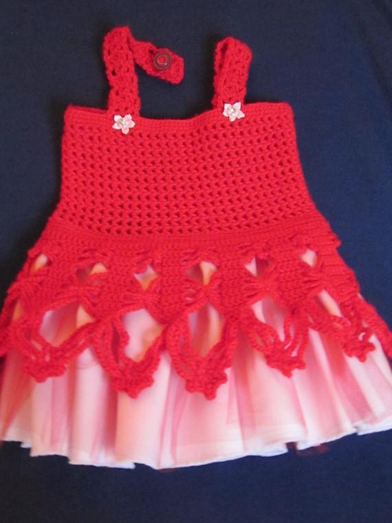 Handmade Girl Crochet Dress