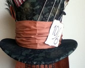 SALE - Perfect Replica - Tim Burton's Mad Hatter Cosplay Top Hat / Wedding / Party / Halloween/ Cosplay