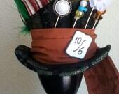 Tim Burton's Mad Hatter Mini Top Hat