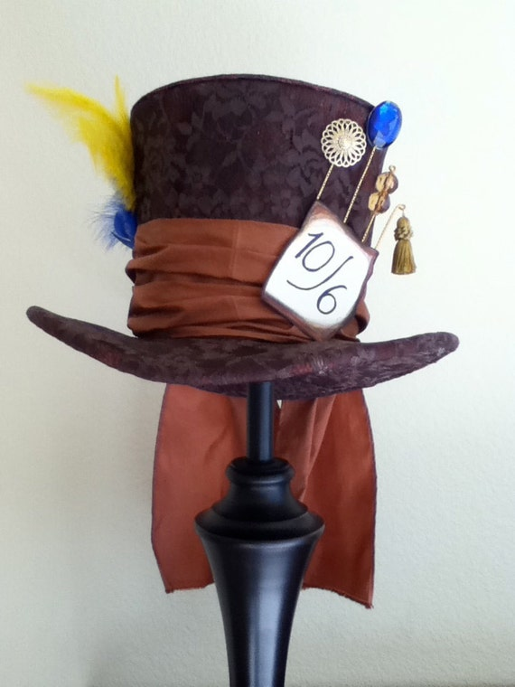 Tim Burton's Mad Hatter Top Hat