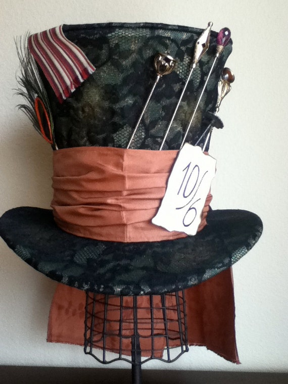 SALE Perfect Replica Tim Burtons Mad Hatter Cosplay