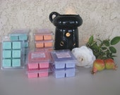 Soy wax break away tart 6-cube clamshell - Scent of your choice