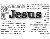 Alpha and Omega Postcard with envelope