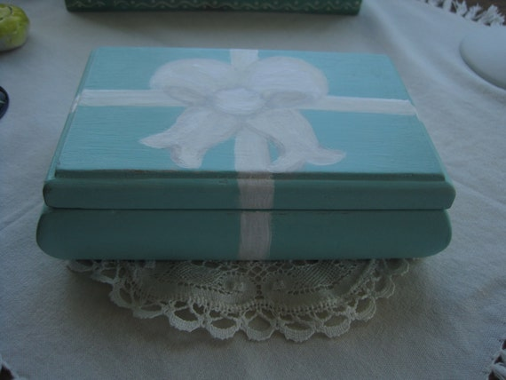 Tiffany's Blue Jewel Box & Bow