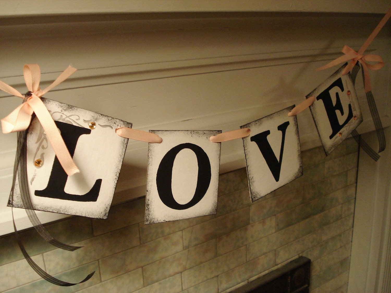 Wall Colour Inspiration: Wedding Banner / Wedding Decorations /Bridal Shower Decor