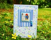 Paddington Bear handmade card