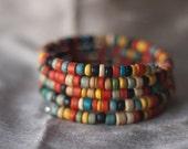 Indian Corn Spiral Bracelet