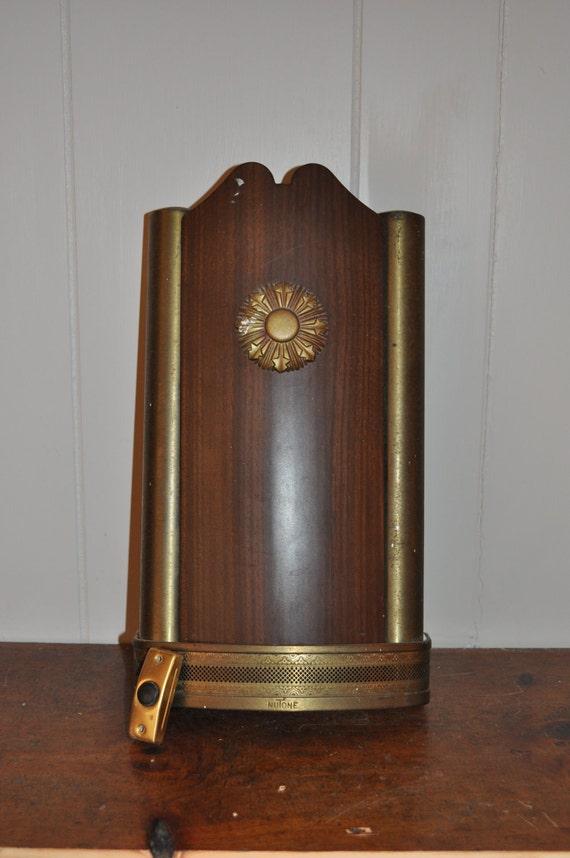 Vintage Midcentury Nutone Door Chime By Oldhousepartsco On