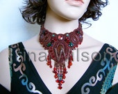 Dark Chocolate Necklace