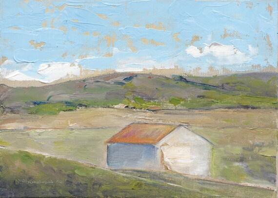 Spring Warming - Original Oil Painting