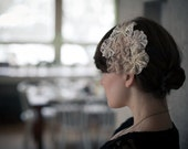 Romantic lace flowers - hair accessory