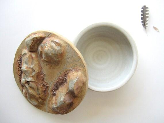 Incense Holder - Handmade Ceramic Stoneware sculpture
