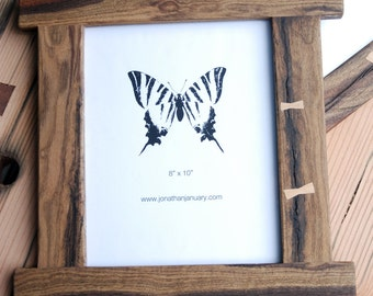 The Black Walnut Butterfly Picture Frame