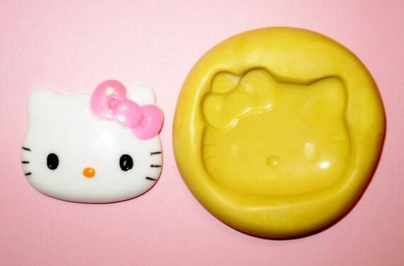 Kawaii Big Hello Kitty Cabochon Mold