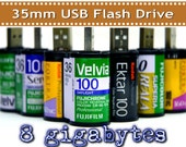 8GB 35mm film USB flash drive