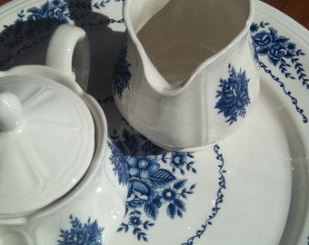 Vintage Mayhill Ironstone Sugar and Creamer Set by SimplyUpStanding