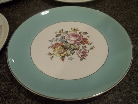 Vintage China Plate Collection by SimplyUpStanding