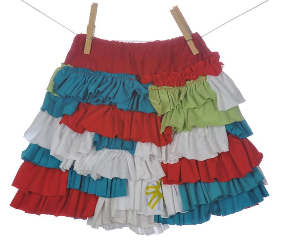 Ruffles Alot Skirt - 4T