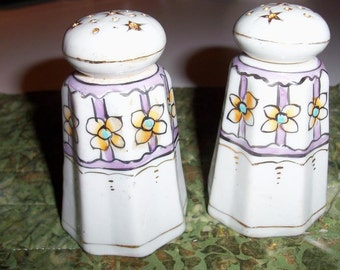 Salt & Pepper Nippon Hand Painted Shaker Set