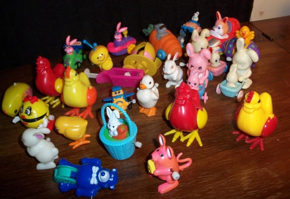 Easter Toys Moving Novelties Lot Collectibles