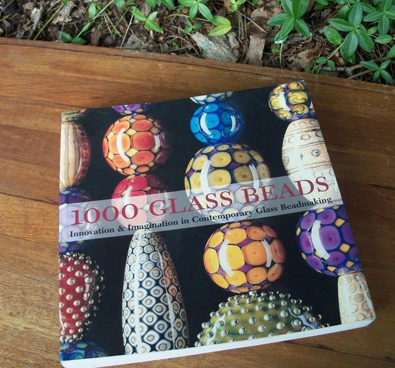 Book Exquisite Lampwork Book 1000 Glass Beads Artisan Volume