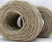 Hemp Yarn for Knitting, Fair Trade, Vegan, Fingering Weight
