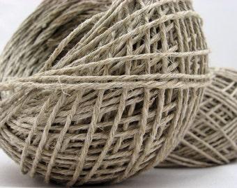 Hemp Yarn, DK, Eco Friendly, Fair Trade, Wholesale Available, Hemp for Knitting Crocheting Weaving Crafts