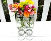 Mason Jar Flower Frog Lids - Set of 6 - Upcycled DIY Flower Arrangers or Potpourri Lids