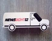 Fun promotional digital clock news truck from local Joplin, Missouri TV station, Unique Gift Idea