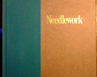 Needlework, Vintage Book from the Smithsonian's Illustrated Library of Antiques, Illustrated, Gift For Her, Christmas