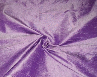 Half yard of lavender dupioni silk blend