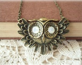 ON SALE  The Curious Owl Necklace