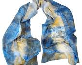 Hand Dyed Silk Wrap- 010