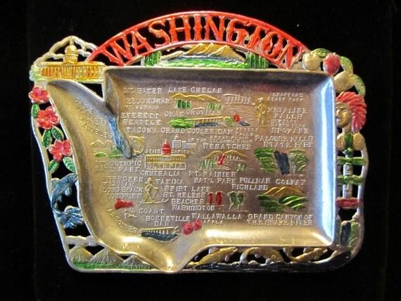 Washington State Souvenir Tray