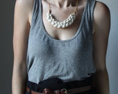 Ivory rope necklace