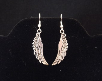 On Mechanical Angels' Wings Earrings