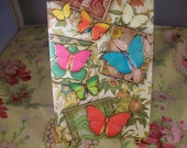 Set of 10 Butterfly Note Cards