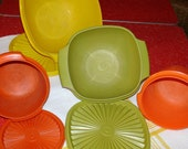 Vintage Tupperware Set of Storage Containers
