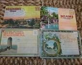 Vintage Set of Photo Postcards of Beaumont