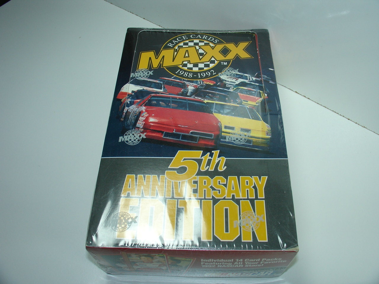 Nascar Maxx Race Cards 1988 To1992 Unopened By Morembwstuff