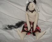 Catboy mature doll sexy penis adult toy anthropomorphic kawaii yaoi  gag gift cat boy plush flexible