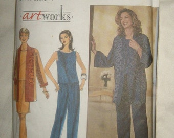 SALE Misses Jacket Top Skirt Pants Pattern Simplicity 8661 Size 12 14 16  UNCUT Size P