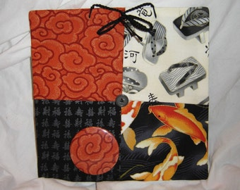 cloth message board Oriental theme goldfish shoes clouds hanging magnet board 8X8 plus magnet