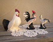 Chickens and Roosters / vintage farmhouse / instant collection - scoutandrescue