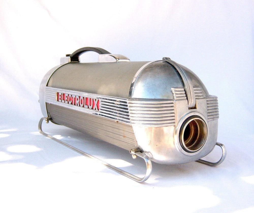 Retro Electrolux Xxx Vacuum Cleaner W Sled Skis 1930s 40s