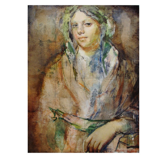 Original Figure painting on canvas-Figure622-30 x 40 inches