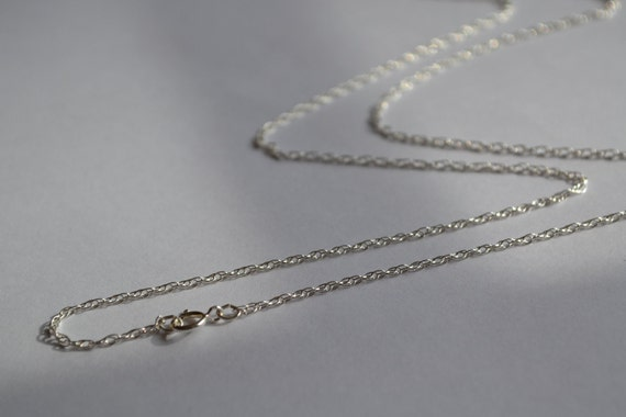 """Sterling Silver 24"""" Double Rope Chain Necklace"""