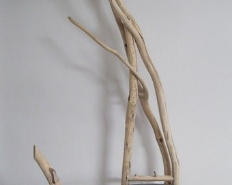 "Modern Rustic Driftwood Chair ""West"""