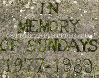 In Memory Of Sundays