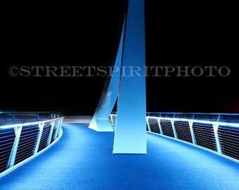 Clyde Walkway aka Squiggly Bridge, Glasgow